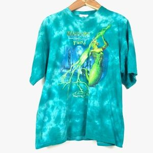 VTG UNIVERSAL STUDIOS Tie Dye Poseidon Fury T-Shir